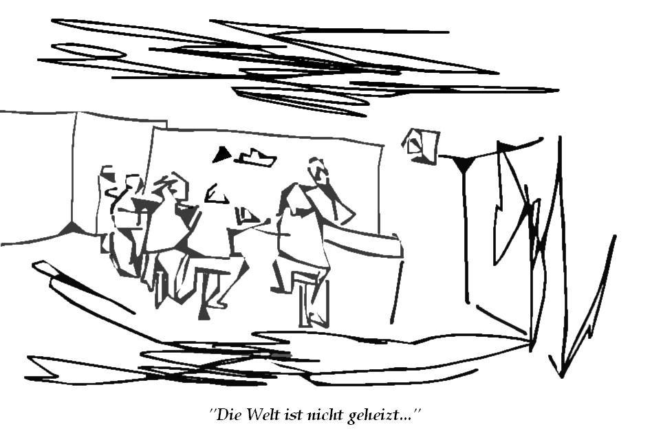 Die Welt ist nicht geheizt