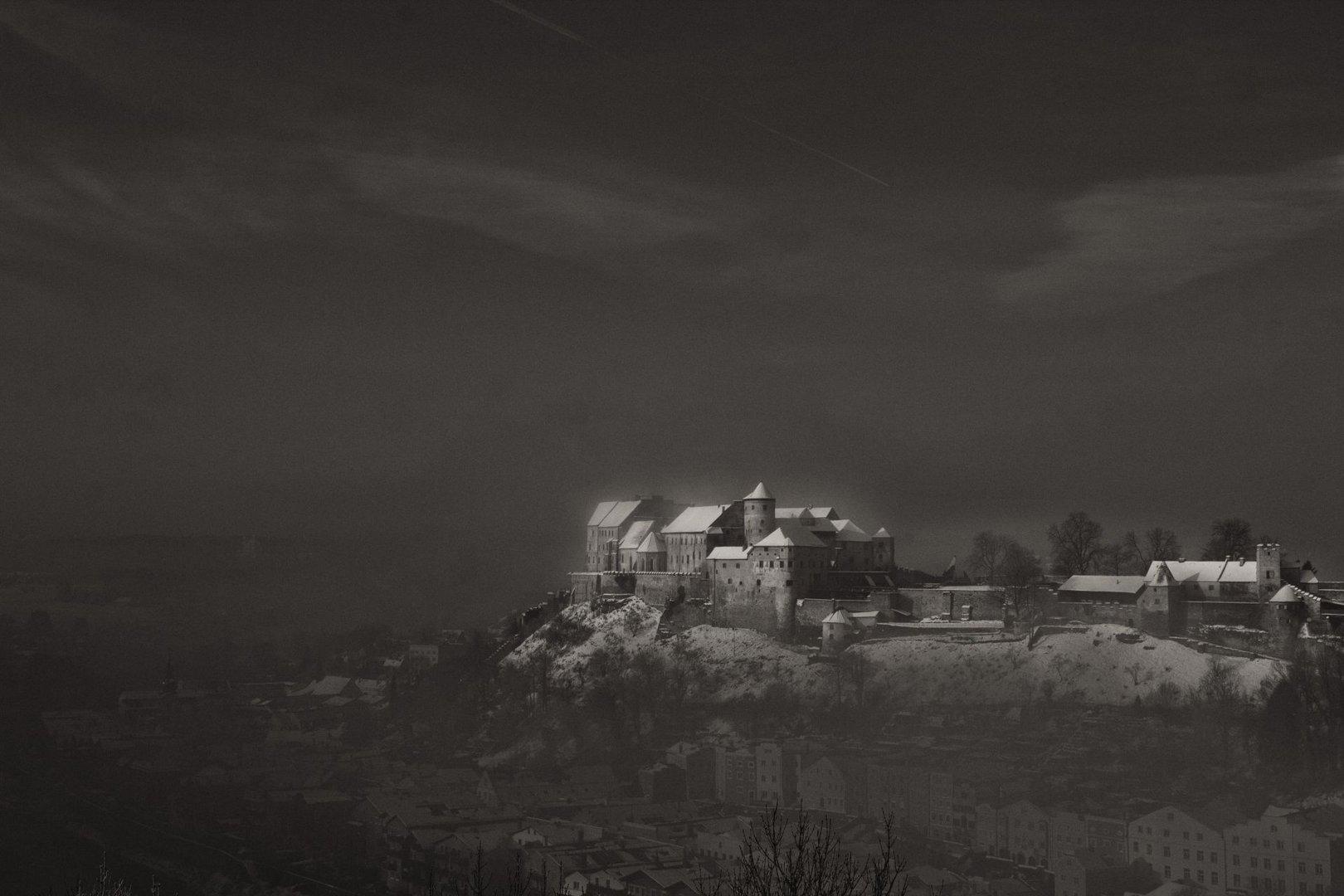Die weltlängste Burg zu Burghausen