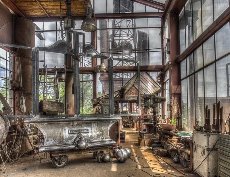 Die Werkstatt des Künstlers