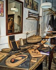 Die Werkstatt des Schneidermeisters ...