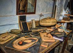 Die Werkstatt des Schneiders ...