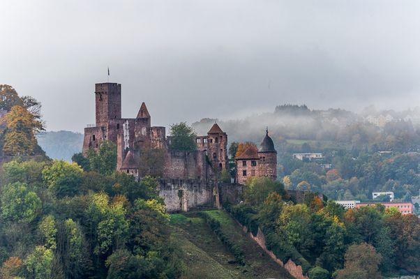die Wertheimer Burg - im Herbst