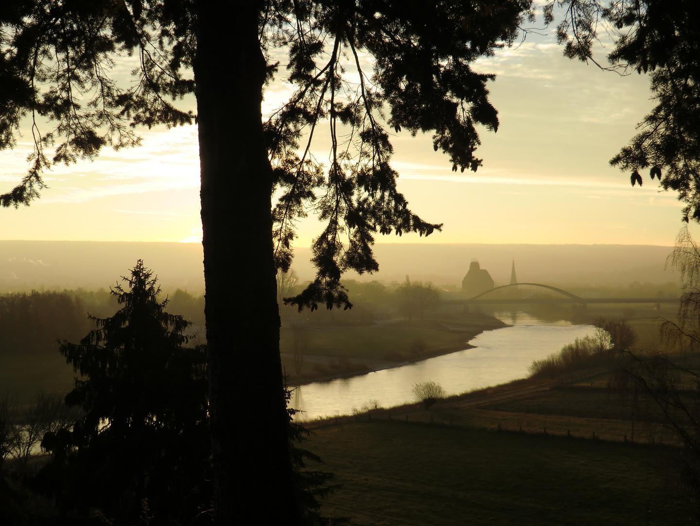 Die Weser am 25.11.11