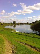 Die Weser bei Etelsen