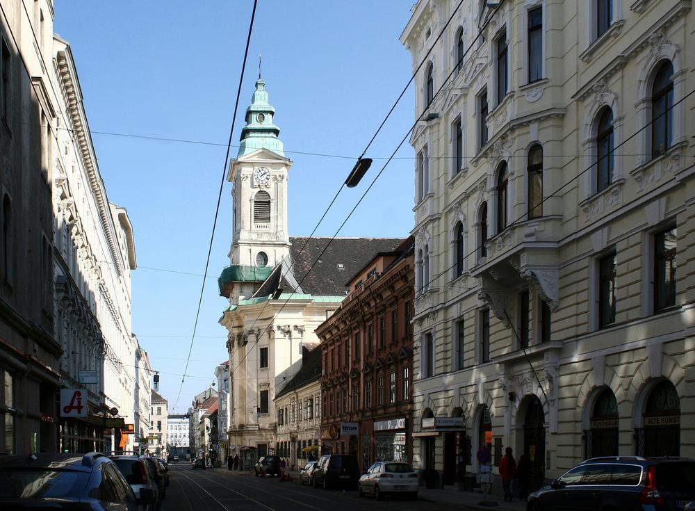 Die Westbahnstraße am Neubau
