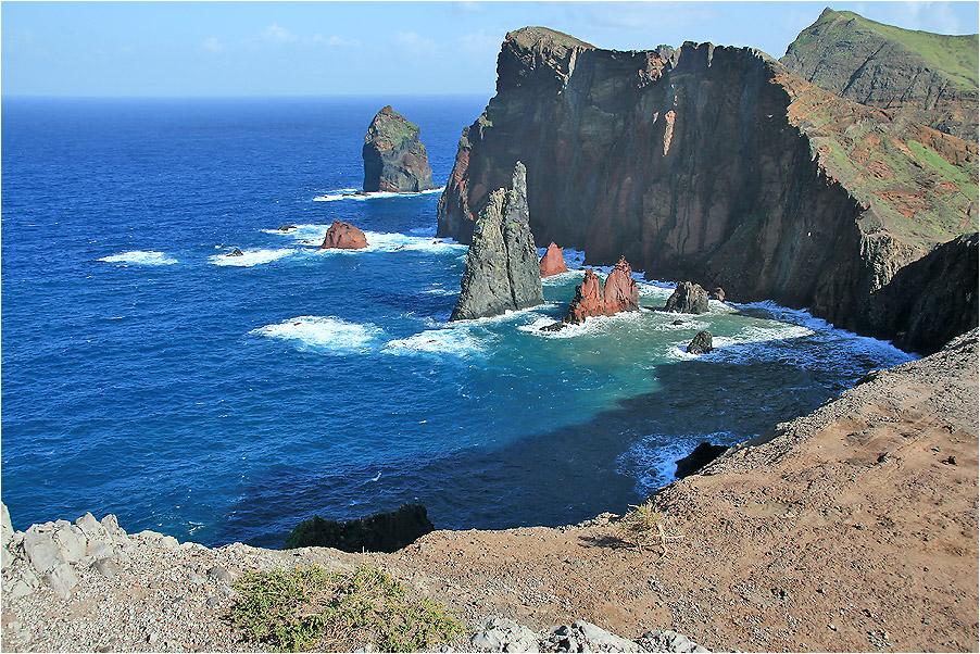 die wilde Küste von Sao Lourenco