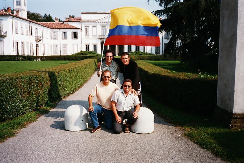 """""""Die wilden"""" 2002 beim F1 Rennen in Monza"""