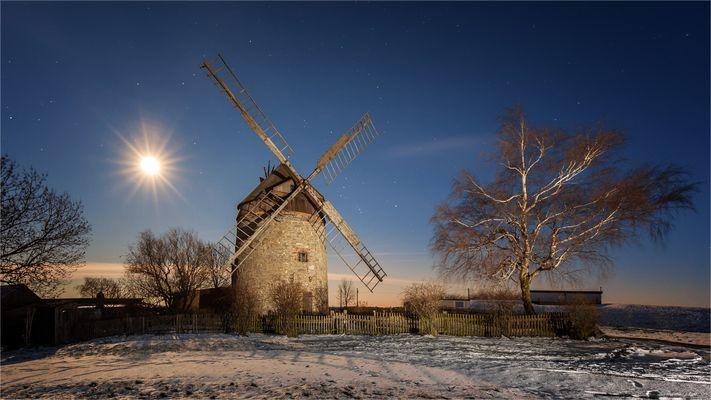 Die Windmühle Endorf