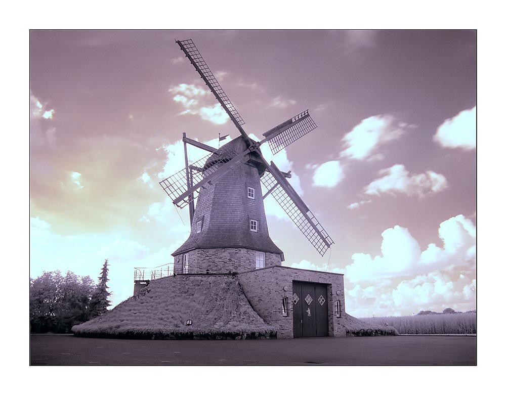 Die Windmühle in Sinningen