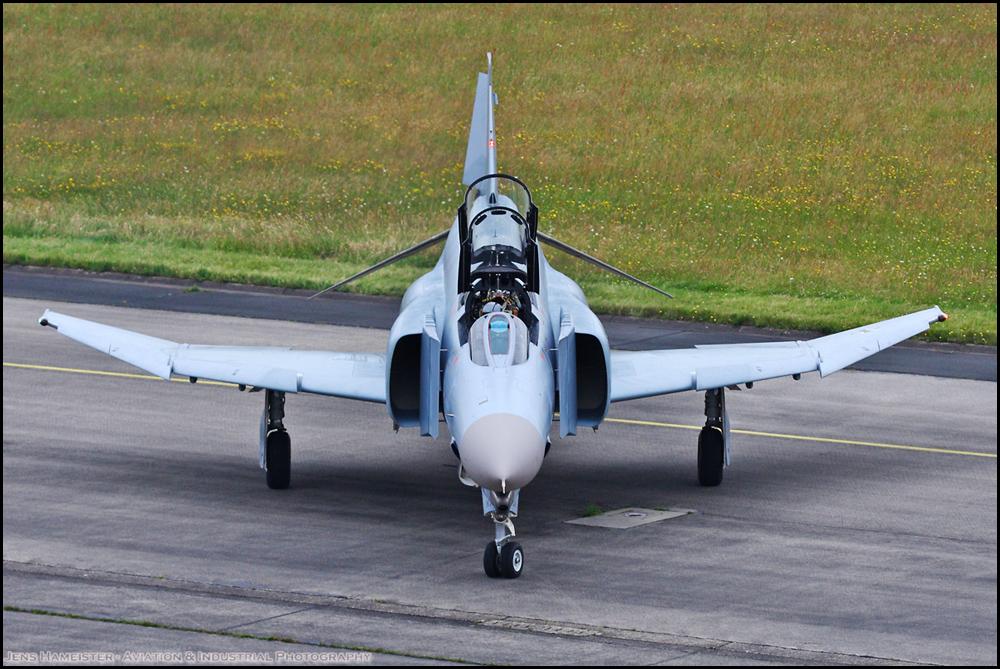 Die wirklich letzte Phantom vom JG71 geht zum Schrotti...