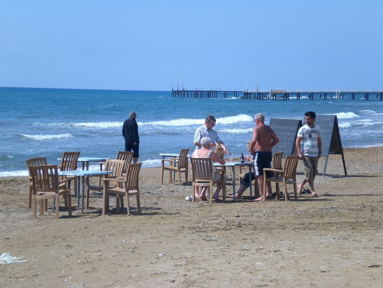 Die wohl kleinste Strandbar