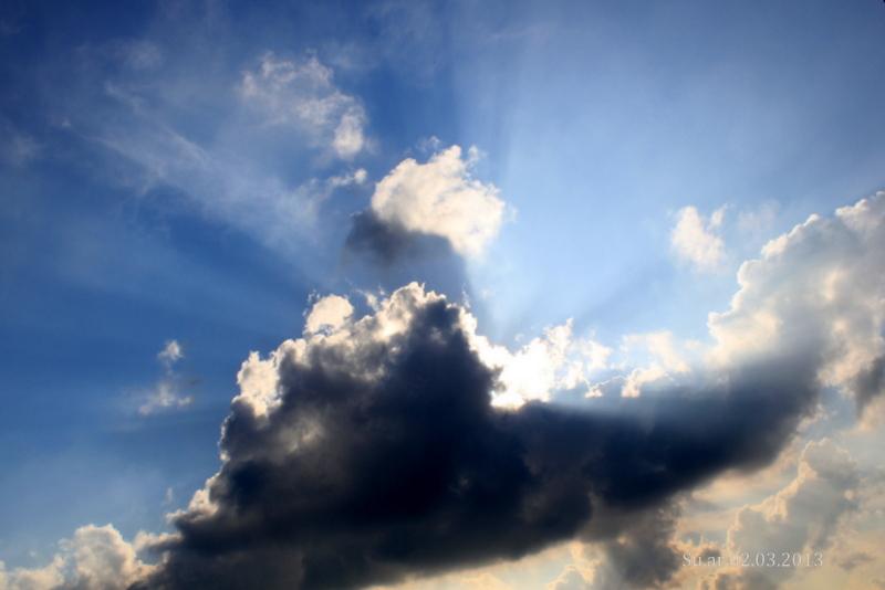 Die Wolke, die in sich tanzen