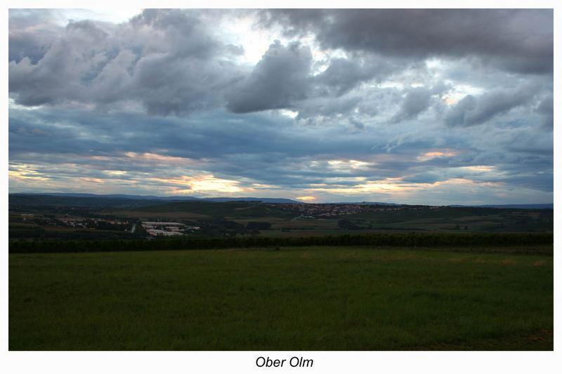 Die Wolken am Abend