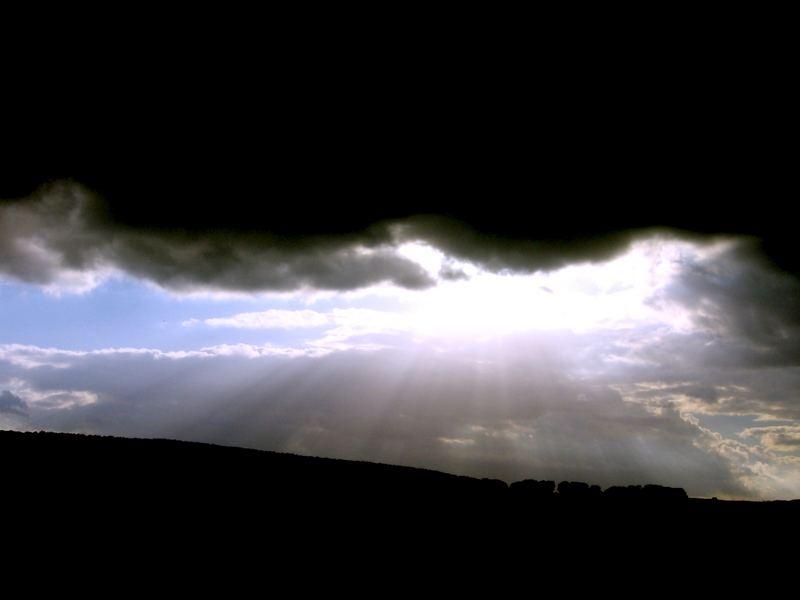 Die Wolken brechen auf