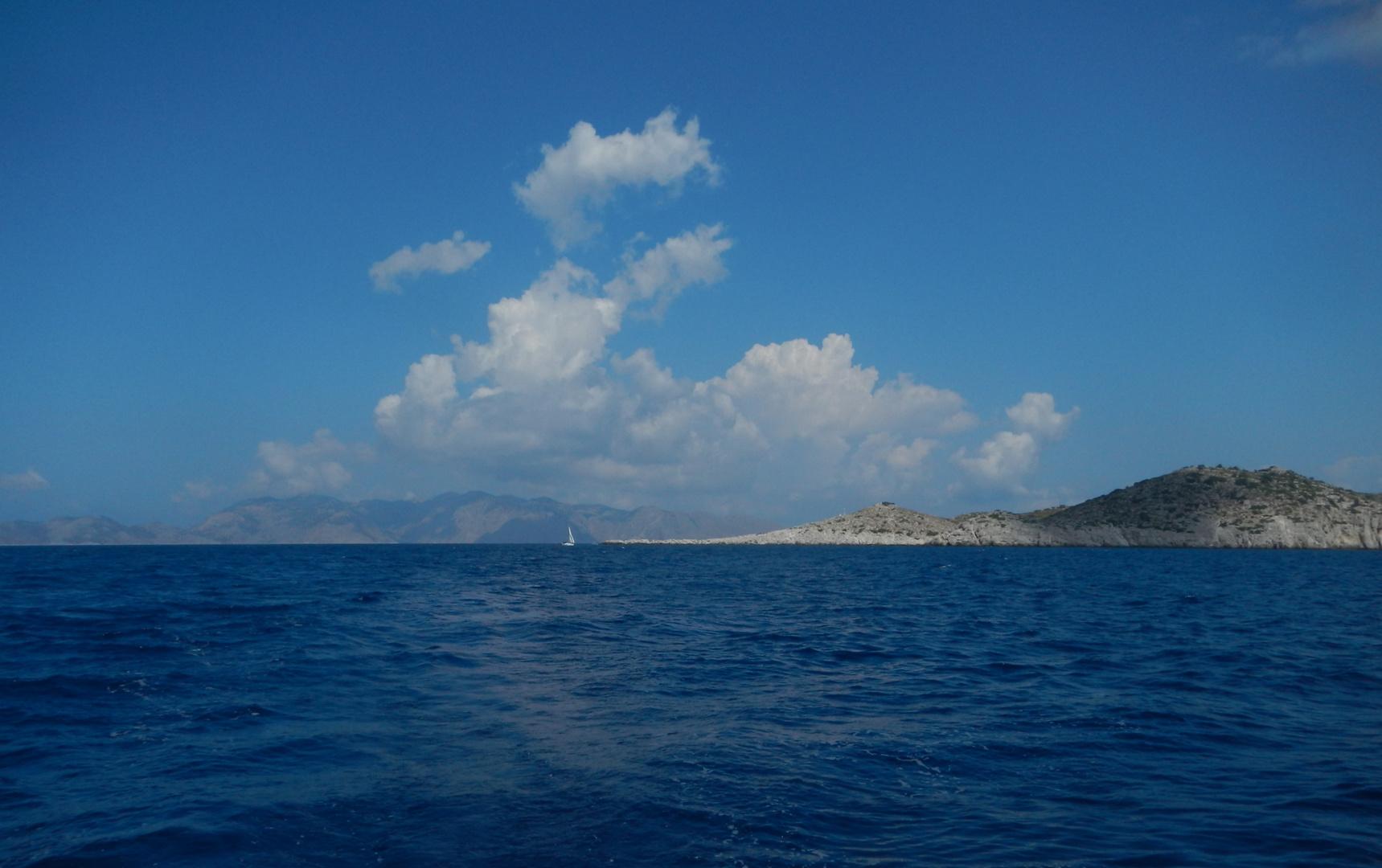 Die Wolken der Wind und das weite Meer