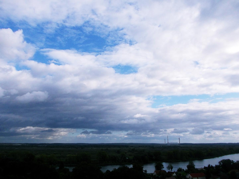 die wolken sind zum greifen nah ;)