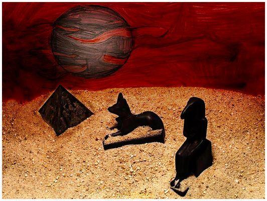 Die Wüste Ägyptens
