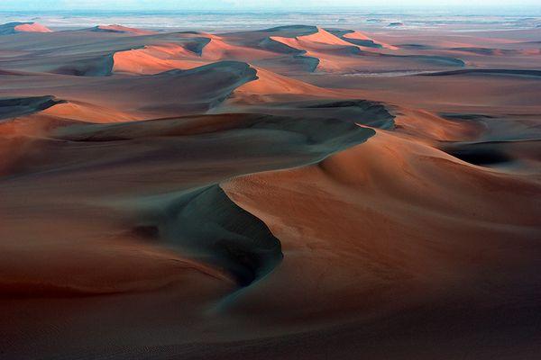 die Wüste erwacht - Stimmung kurz nach Sonnenaufgang