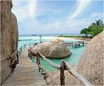 Die wunderschöne Insel Kho Nangyuan in Thailand