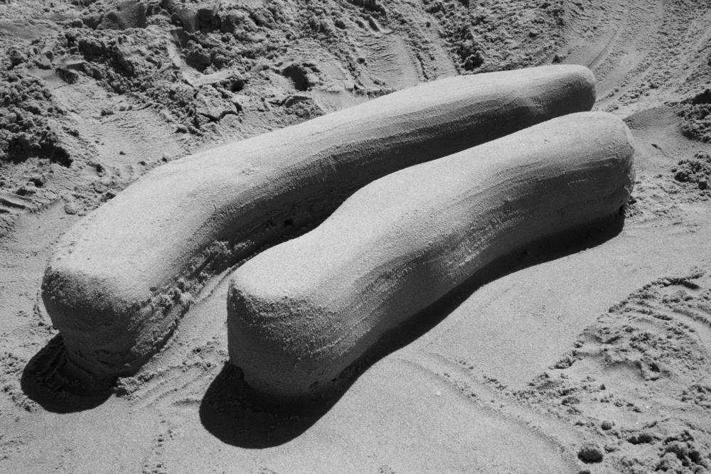 die wurst im sand