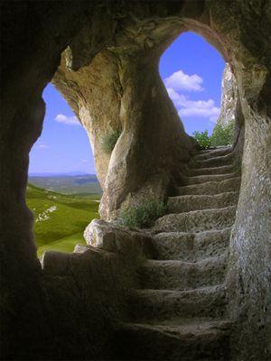 Die zaubere Treppe