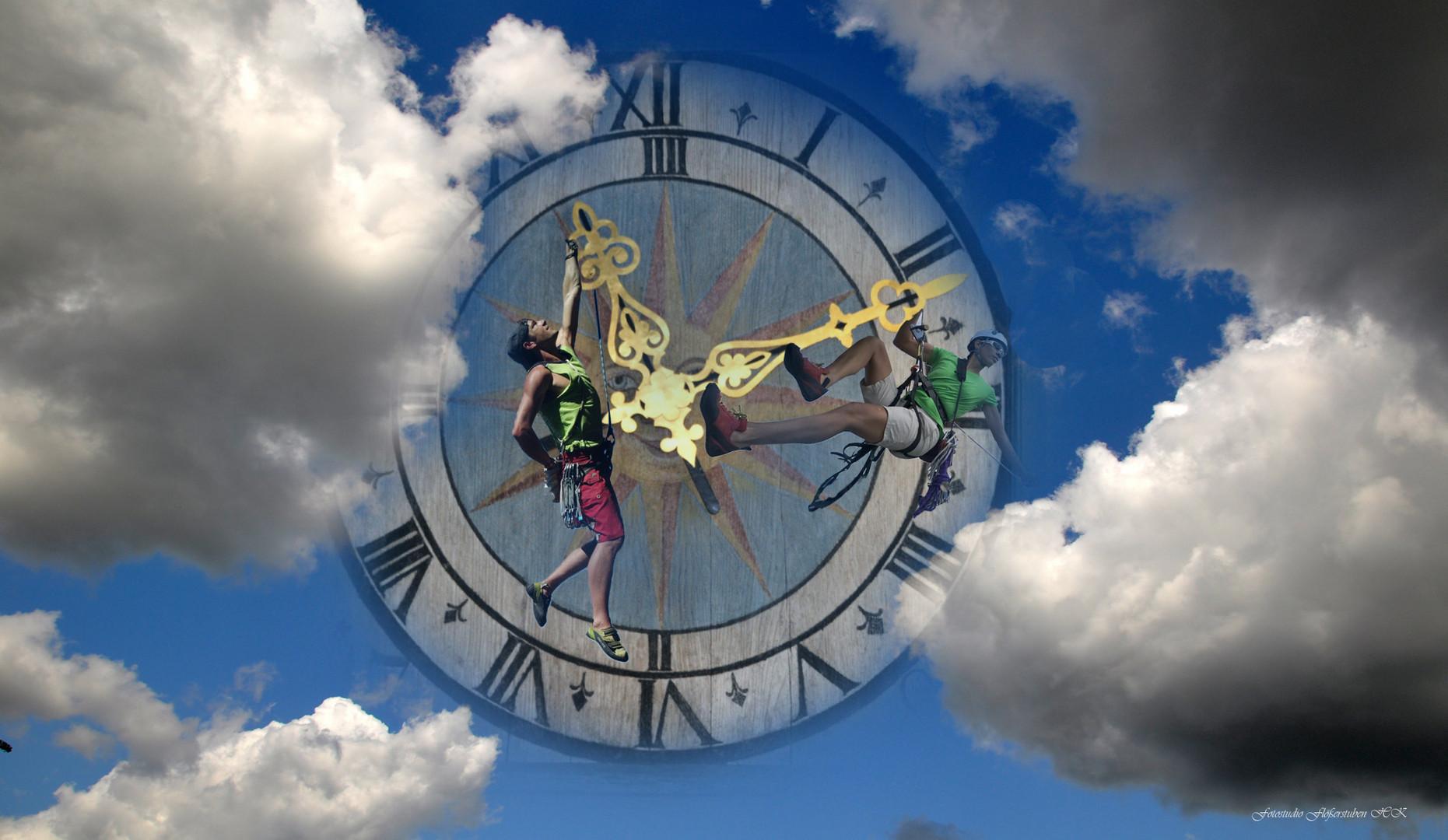 Die Zeit in den Wolken