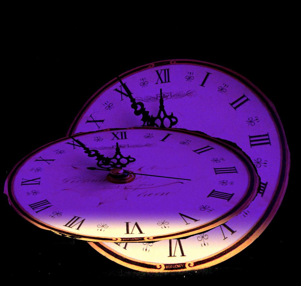 Die Zeit läuft........