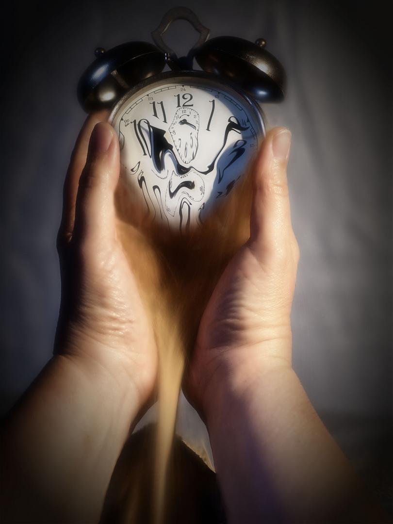 die Zeit verrinnt....