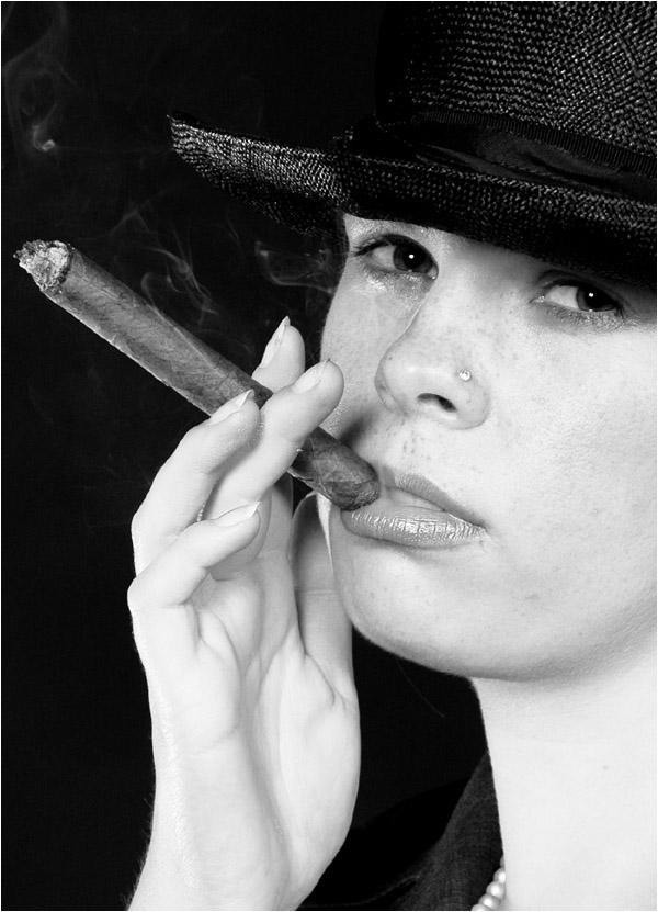 Die Zigarre...