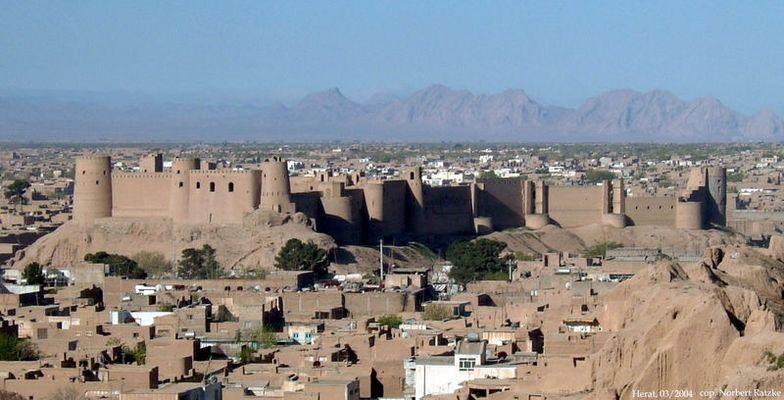 Die Zitadelle von Herat