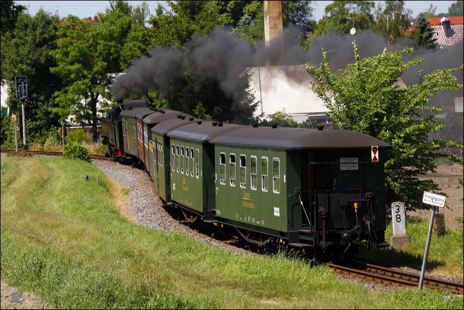 """Die Zittauer """"Bimmelbahn"""" fährt ins Gebirge"""