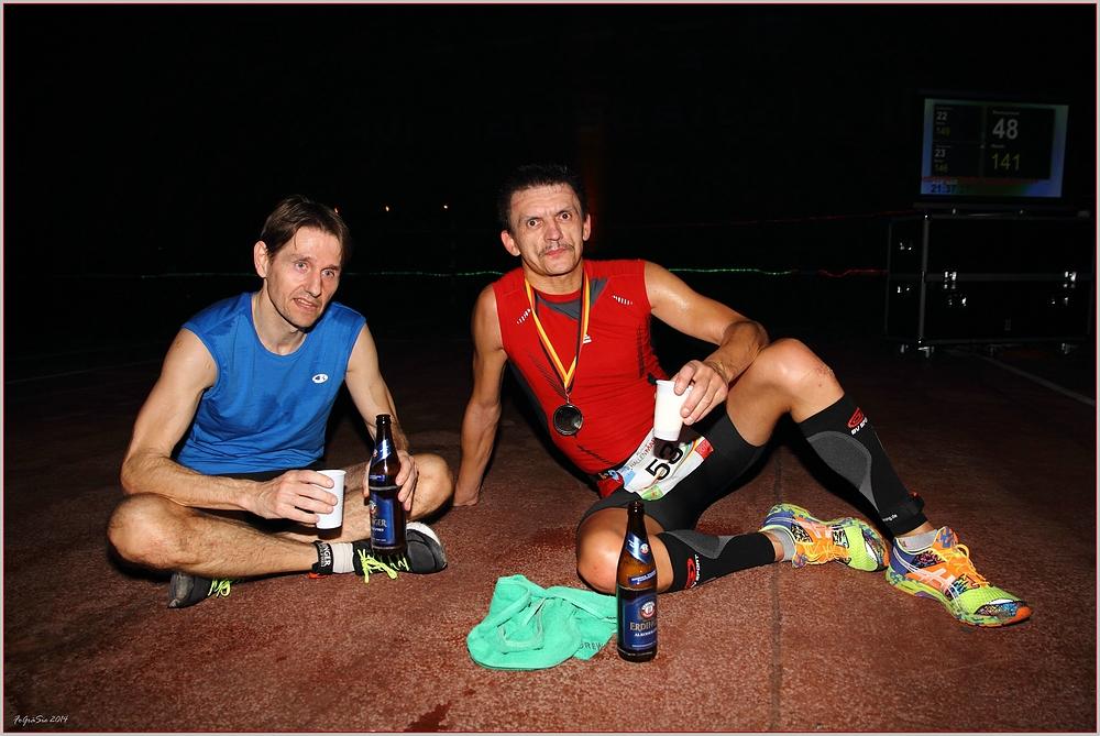 """Die zwei """"Marathonis"""" ..."""