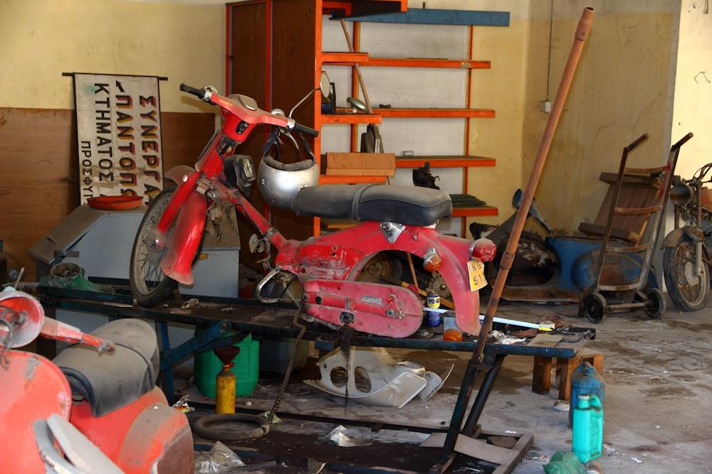 Die Zweiradwerkstatt