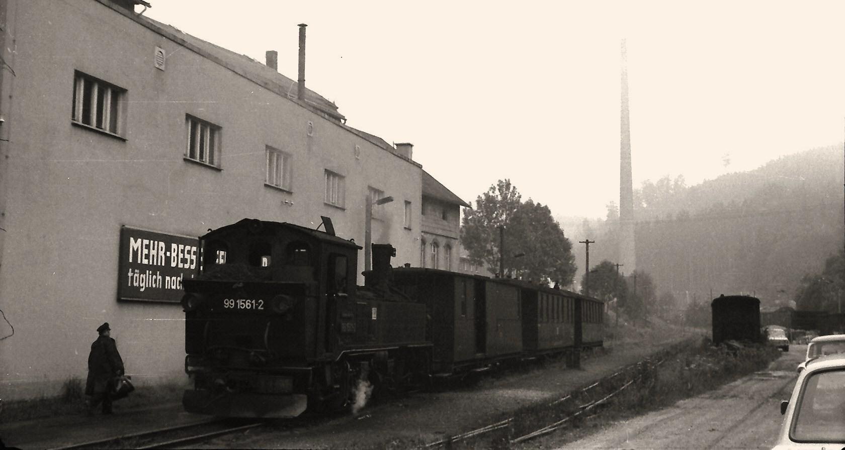 Dienstbeginn in Niederschmiedeberg