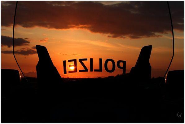 Dienstlicher Sonnenuntergang - II