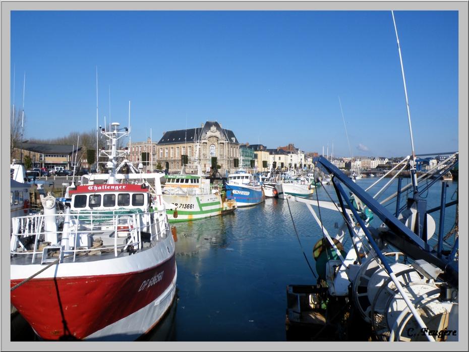 Dieppe (76) Le port de pêche