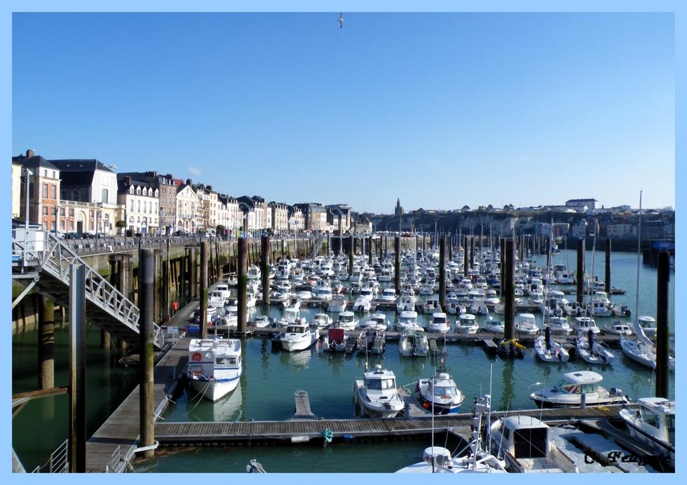 Dieppe (76) Le port de plaisance
