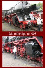 Diese Lok hat Treibräder mit 2 Meter Durchmesser !!!