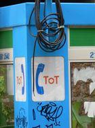 Diese Telefonzelle ist tatsächlich tot