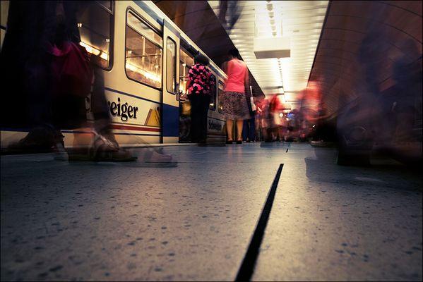 Diese U-Bahn fährt nicht an die Fashion-Week