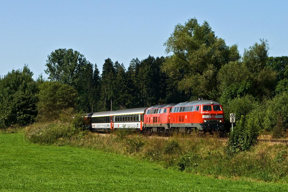 Diesel-EC im Allgäu (II)