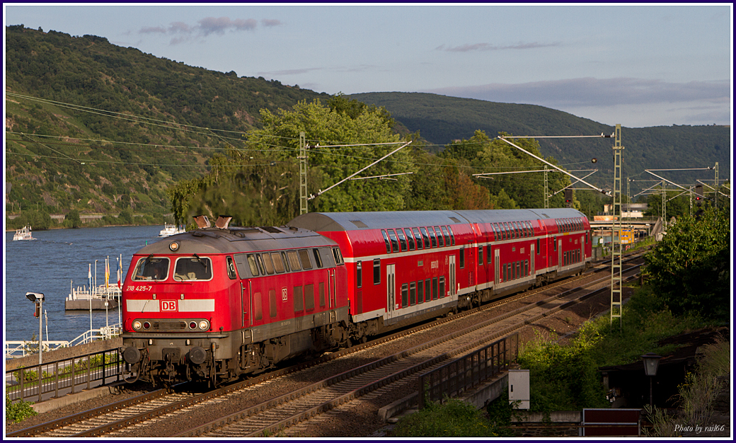 Diesel in Oberwesel
