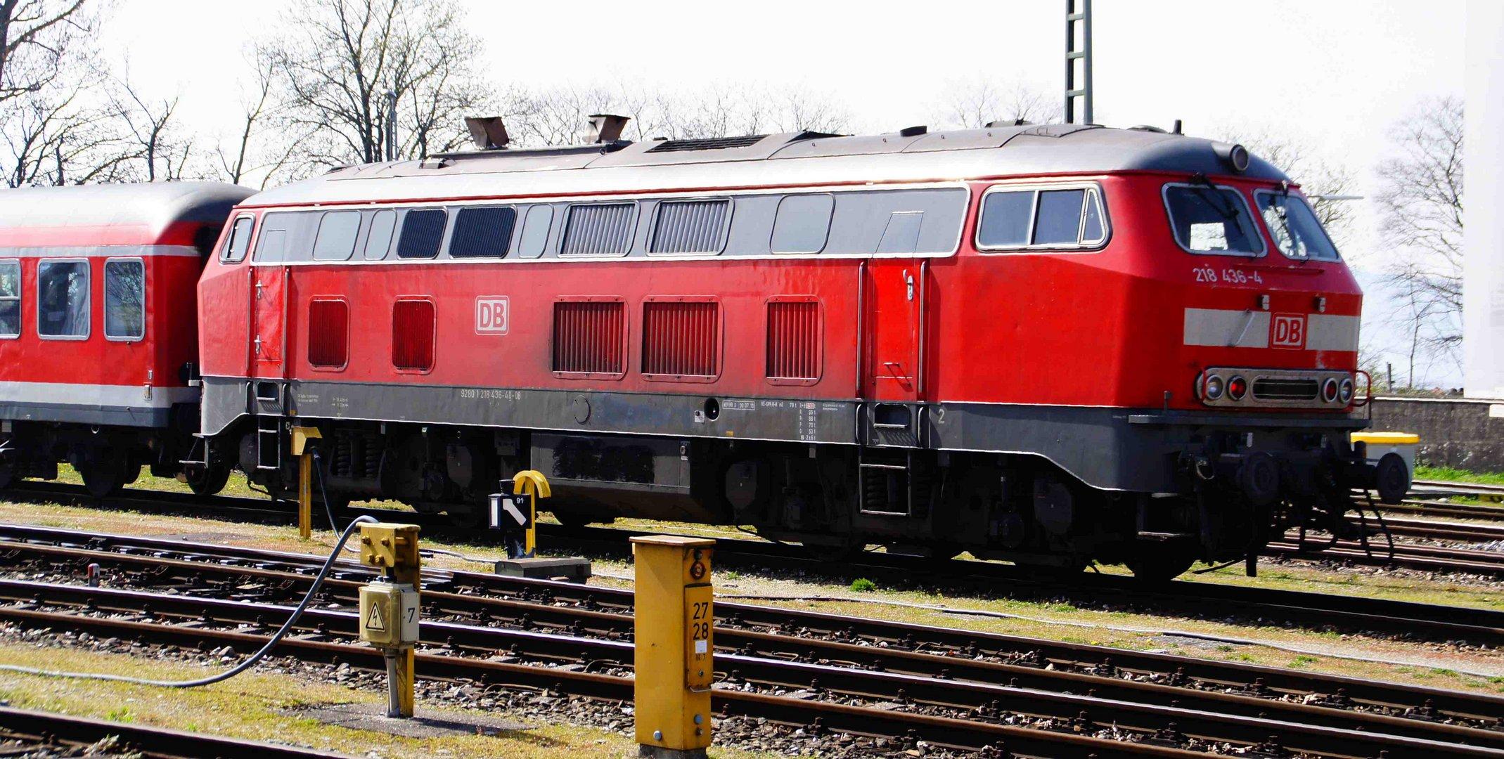 Diesel-Lokomotive