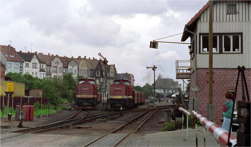 Dieselbetrieb auf der Harzquerbahn