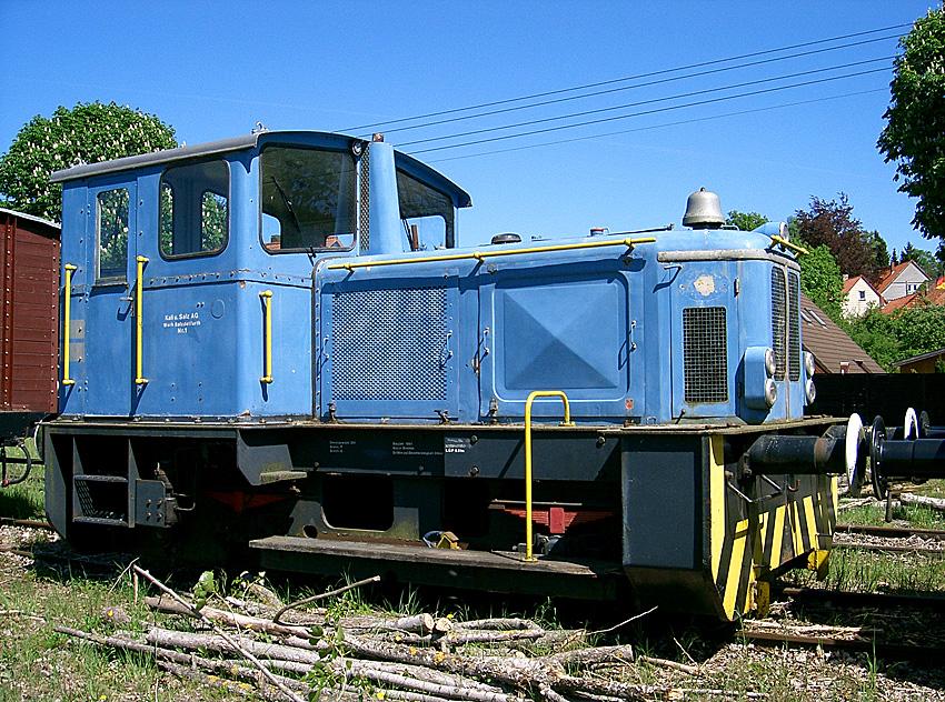 Diesellok 1 der Kali & Salz AG, Werk Salzdetfurth