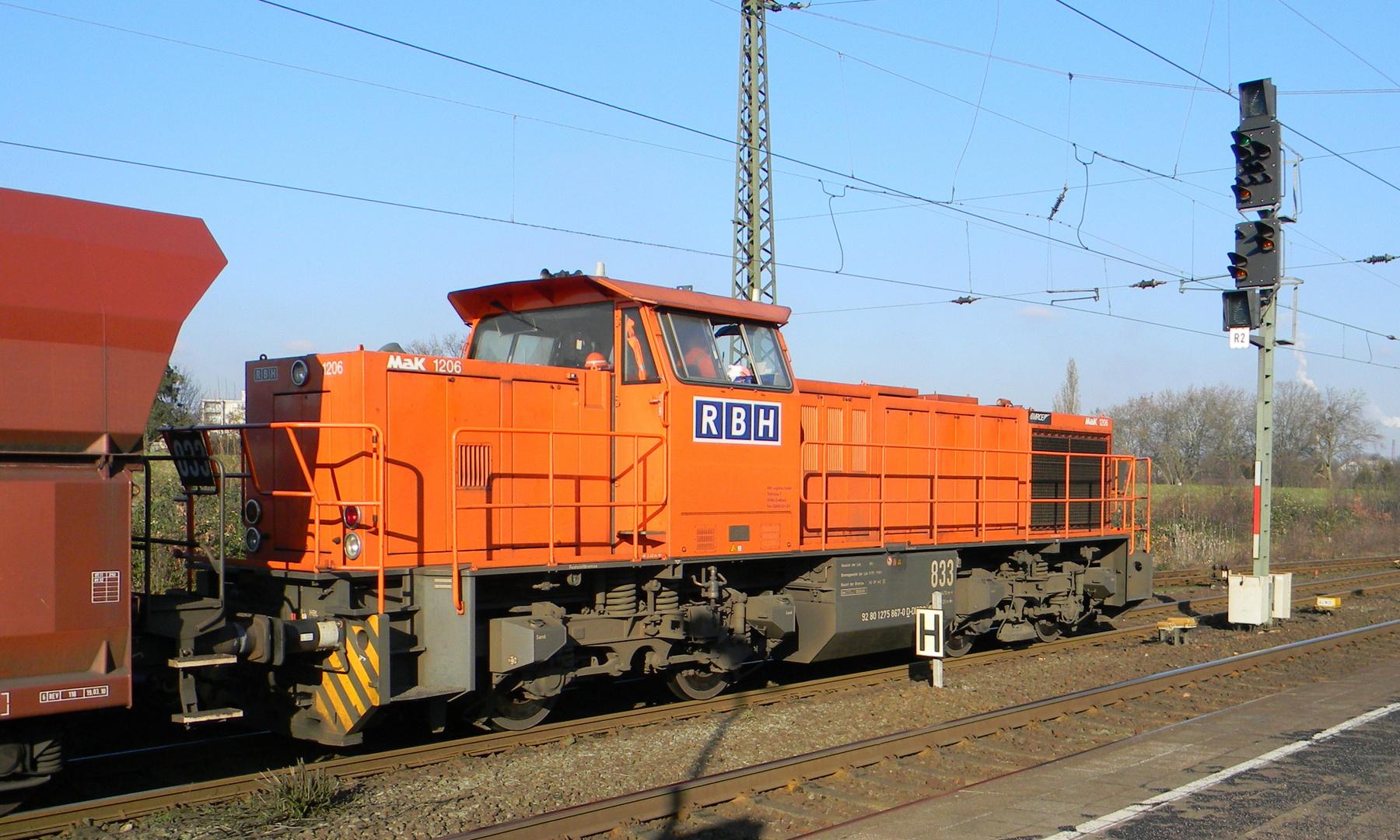 Diesellok 1206 ( Mak )