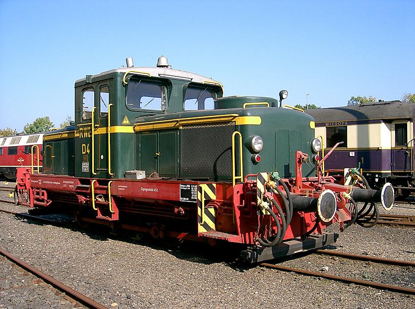 Diesellok D4 der RWE