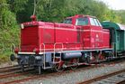 Diesellok V65 011 des DB-Museums