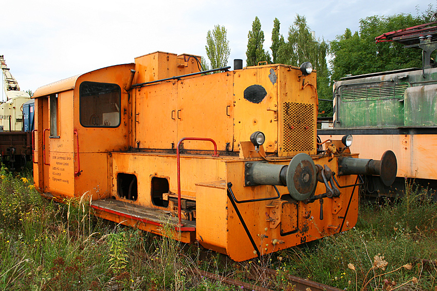 Diesellok VAW 1 des Deutschen Werkbahnmuseum Hannover
