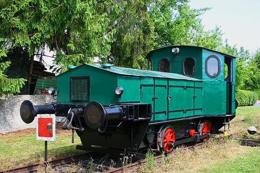 Diesellok VL9 der Arbeitsgemeinschaft Historische Eisenbahn